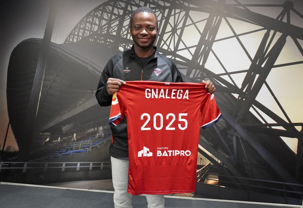 FRED GNALEGASIGNE A CLERMONT FOOT
